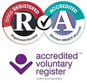 BACP accredited voluntary register mark